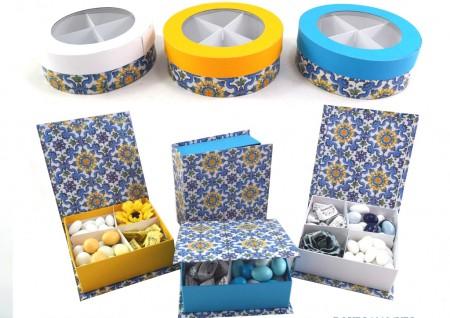 Box Porta confetti Vietrese