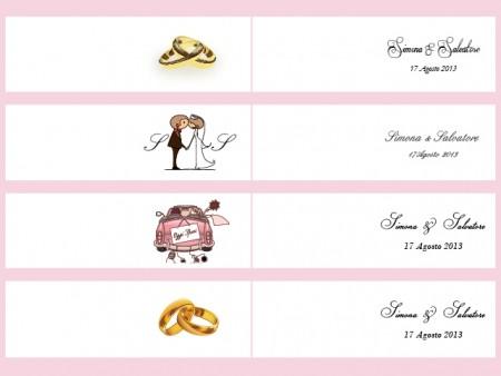 Biglietti Classici Bomboniere Matrimonio