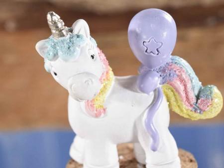 barattolo in vetro con unicorno