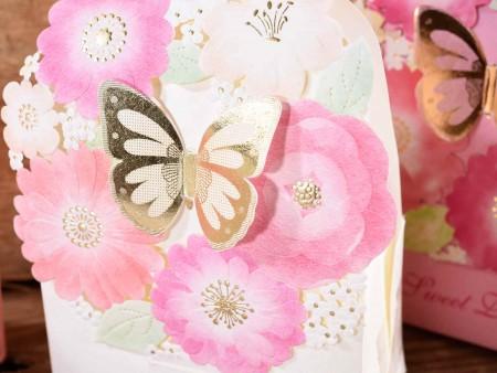 Scatolina confetti bomboniere farfalla