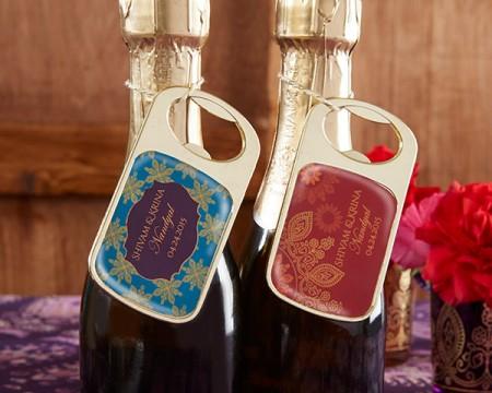 Apri bottiglie dorato personalizzato