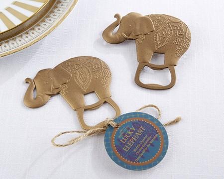 "Apribottiglie ""Lucky Gold Elefant"""