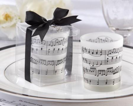 """Porta Candeline """"La musica del cuore""""  - ULTIMI 28 PEZZI"""