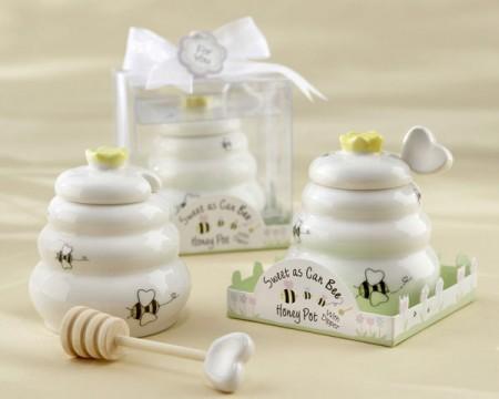 Dolcissimo vasetto per il miele con mestolino