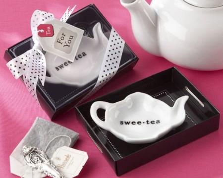 Portabustina da tè a forma di teiera