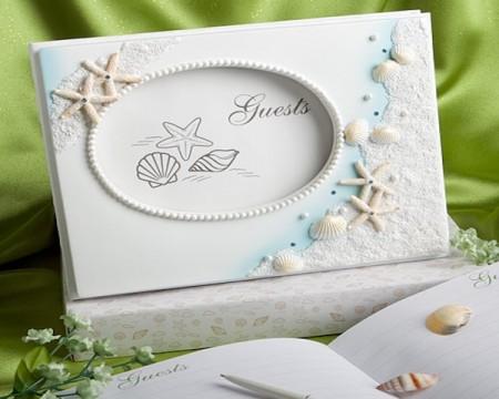 Guestbook per matrimonio - tema Mare