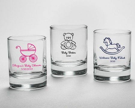 Bicchierini da liquore (Nascita e Battesimo)