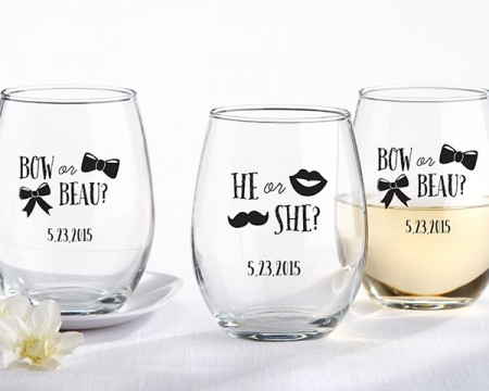 Bicchieri personalizzati – Maschio o Femmina?