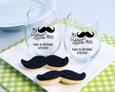 """Bicchieri personalizzati – Linea """"My Little Man"""" (Baby)"""