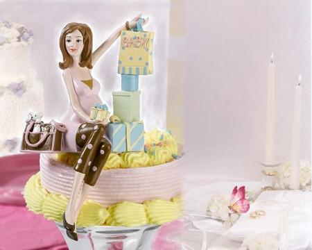 "Cake Topper Nascita ""Baby Shower"""