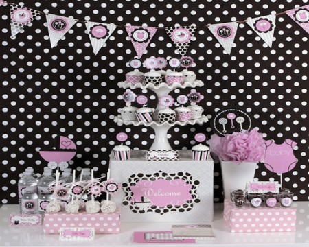 Baby Girl Party Kit