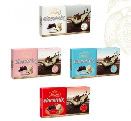 Confetti Ciocomix al cioccolato bianco e al latte