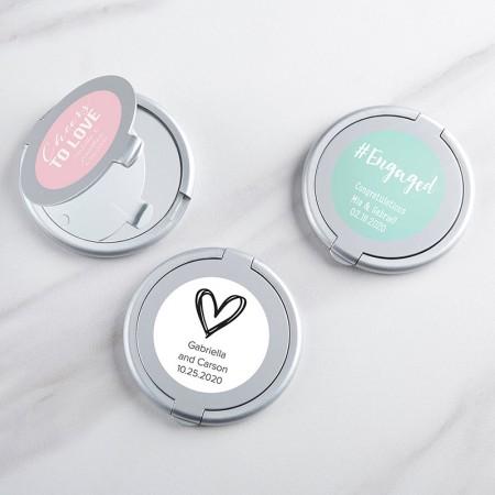 Specchietto argentato personalizzato