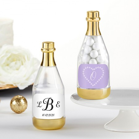 Bottiglietta di champagne personalizzabile