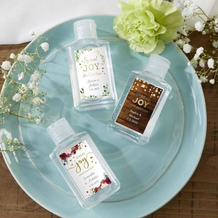 Gel Igienizzante personalizzabile - Design Matrimonio e Nozze