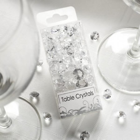 Cristalli decorativi trasparenti 50gr