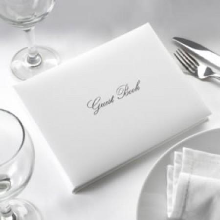 Guestbook Bianco e Argento