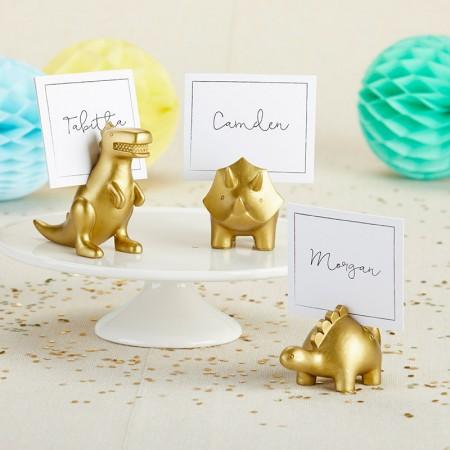 Segnaposto battesimo dinosauri