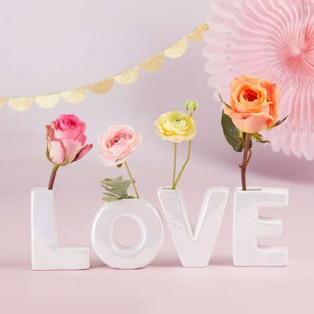 """Vasetto per fiori """"Germogli d'Amore"""""""