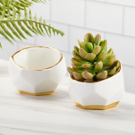 """Vasetto per piante """"Geometrico"""""""