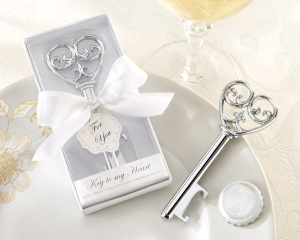 Matrimonio Tema Chiave Del Cuore : Apribottiglie quot la chiave del mio cuore in scatola bianca