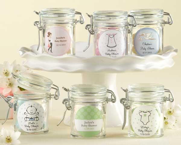 Newborn Baby Gift Ideas Canada : Barattoli di vetro personalizzati design nascita e battesimo
