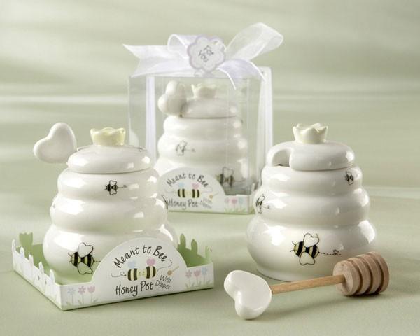spesso Vasetto per il miele con mestolino - Primavera - Bomboniere per  YO29