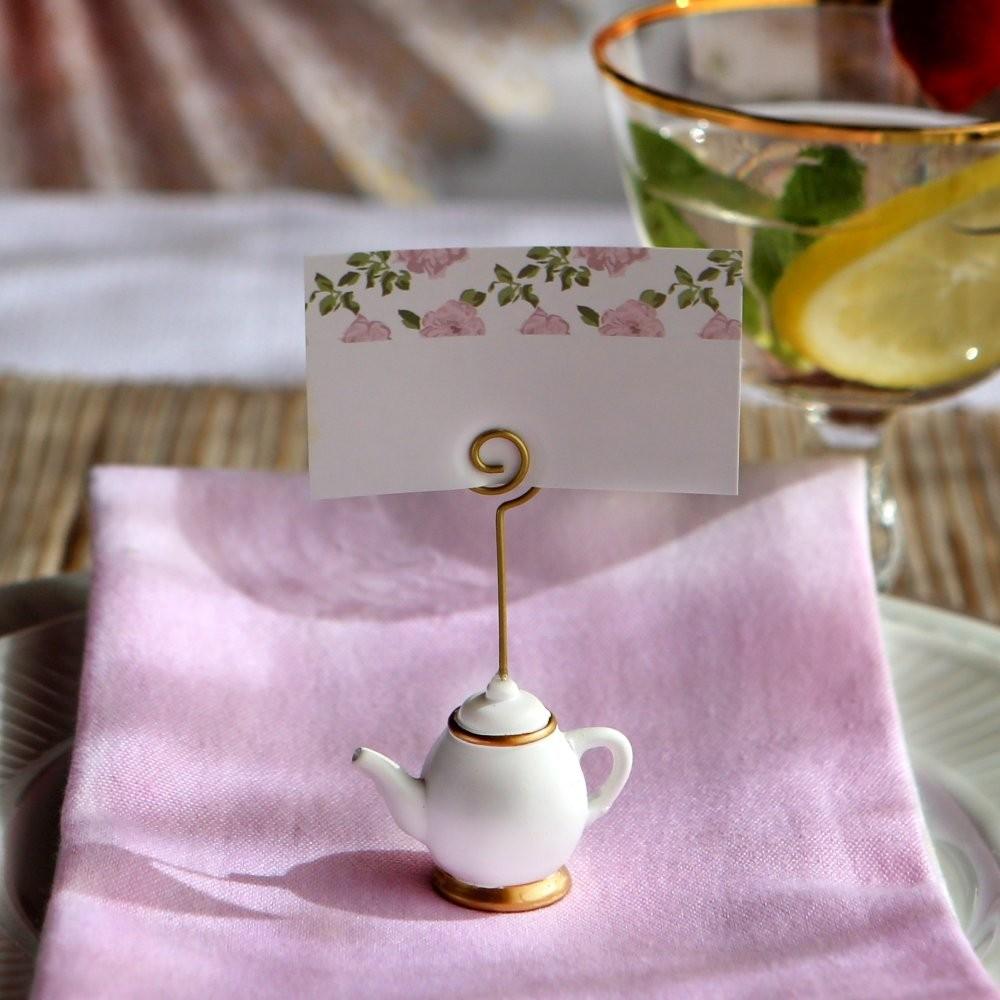 "My Bomboniere per matrimonio - Segnaposto ""Tea Time Whimsy'"