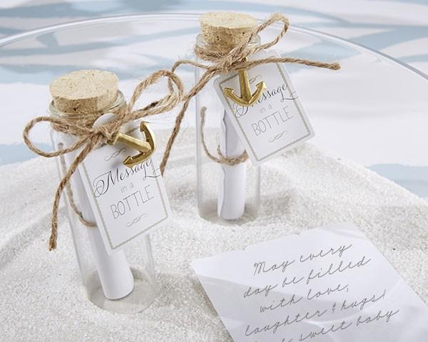 Segnaposto Matrimonio Bottiglia.Bottiglietta In Vetro Messaggio Nella Bottiglia