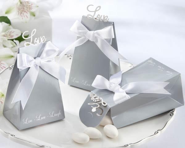 Popolare Portaconfetti e Scatoline Fai da Te per Matrimonio SH79