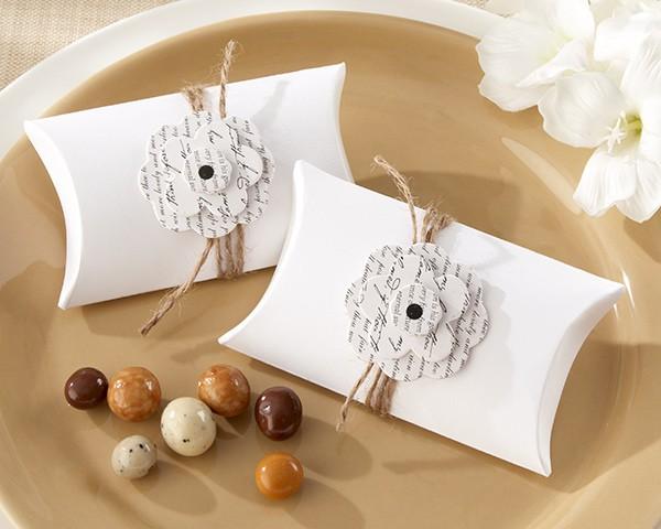 Favoloso Portaconfetti per Matrimonio e Scatole per Bomboniere FD51