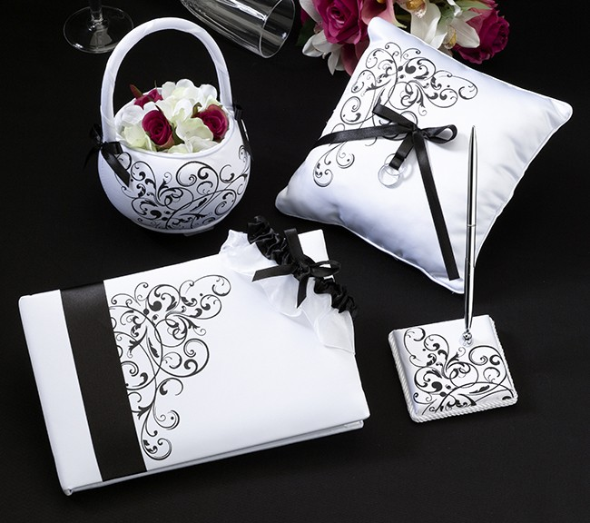 Matrimonio In Bianco E Nero : Wedding set bianco e nero matrimonio