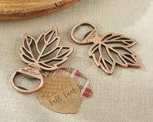 "Apribottiglie ""Leaf"" in Rame"