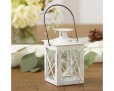 Mini Lanterne Vintage - Color Bianco
