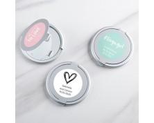Specchietto argentato personalizzato per Matrimonio