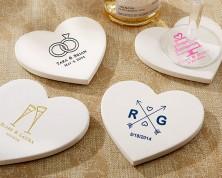 Sottobicchieri cuore - Wedding