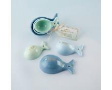 """Misurino in ceramica """"Balenottera Azzurra"""""""
