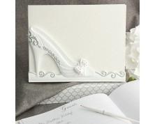 """Guestbook per matrimonio """"Scarpetta Cenerentola"""""""