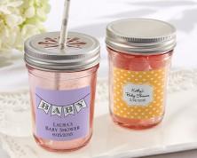 Barattolo rosa personalizzato (Baby)