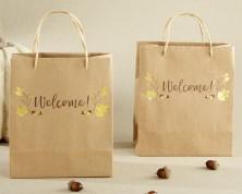 Wedding bags autunnali - Set da 12