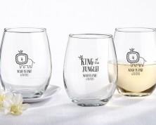 """Bicchieri personalizzati – Linea """" King of the Jungle"""" (Compleanno)"""