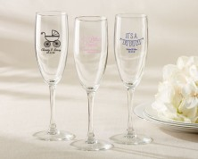 Flute da Champagne personalizzato – Baby Shower