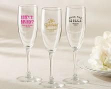 Flute da Champagne personalizzato – compleanno