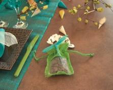 Sacchetti Portaconfetti in Juta (Colori Assortiti)