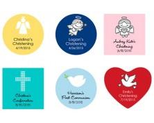 Adesivi e Tag personalizzati per Comunioni e Cresime