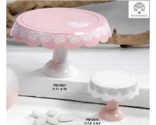 Alzatine in porcellana