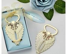 "Apribottiglie ""Angel Wing"" in oro"