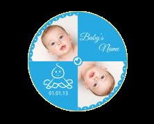 Adesivi Personalizzati con fotografia (Baby)
