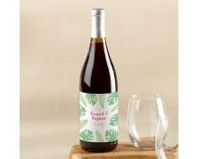 Etichette per vino personalizzate (Matrimonio)