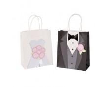 "Wedding bag ""Bride & Groom!"""